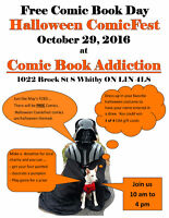Free Comic Book Day - Halloween ComicFest Oct 29th 10am to  4pm