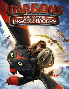 Dragons Dawn of the dragon racers de DreamWorks   DVD neuf.