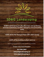 Garden and Lawn Care Services **SPECIAL OFFERS**