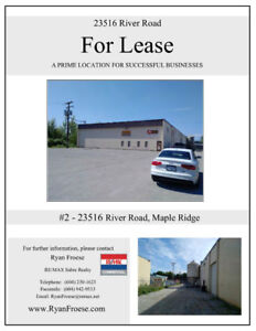 5,000 Sqft Warehouse for Lease in Albion, Maple Ridge