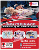 CPR-HCP/BLS Basic Life Support Courses $54 Kingston March 2,2019