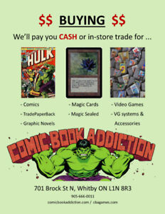 Buying: MAGIC THE GATHERING Cards
