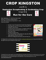 All day scrapbooking and cardmaking crop September 17th!