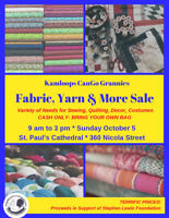 Fabric, Yarn & More Sale