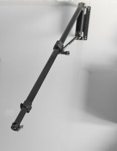 Manfrotto 098B Wall Mounting Boom Arm, Black
