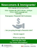 Emergency Financial Aid Assistance