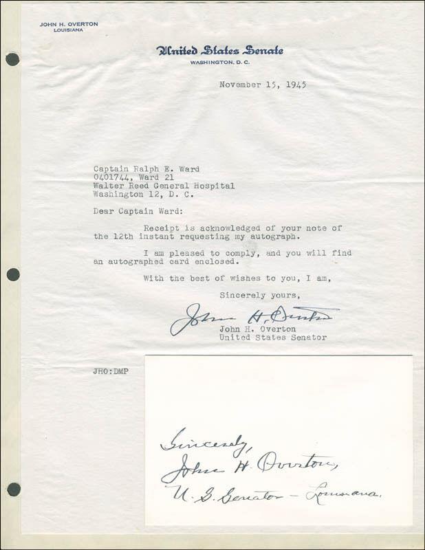 JOHN HOLMES OVERTON COLLECTION