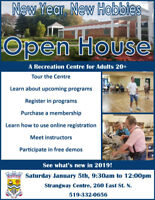 Strangway Centre Open House