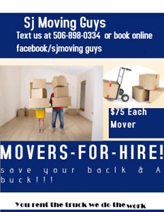 Mover for hire