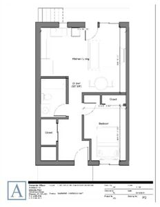 Brand new, 1 Bedroom Apartment, Available Nov 9th
