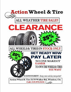 20% - 25% Off Wheels & Tires