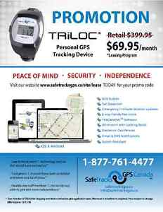 PROMOTION.....SafeTracks TRiLOC™ GPS Locator