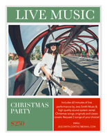 Live Music for Christmas Party!