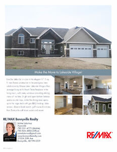 Make the Move to Lakeside Village in Bonnyville