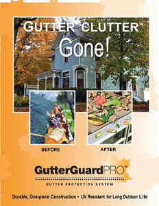 Gutter leaf Guard fascia board flashing gutterGuardpro stock BC