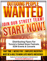 looking for some extra cash? join The Rampant Street Team!