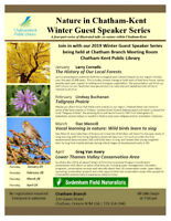 Nature in Chatham-Kent by Sydenham Field Naturalists