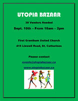 Utopia Bazaar - Sept. 10th