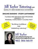Quality Math Tutoring Available