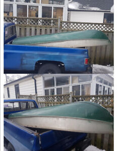 Aluminum Boat, Motor and Gas Cans…Cheap