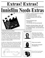 Extras Needed for Short Film - no pay, DVD of film & credit