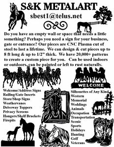 Metal Art Horse Signs & Silhouettes