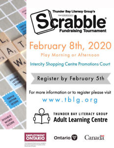 22nd Annual Scrabble Fundraising Tournament