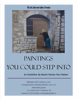"Opening Reception Exhibit ""Paintings You Could Step Into"""