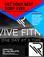 Revive All Ltd changing lives one body at a time!