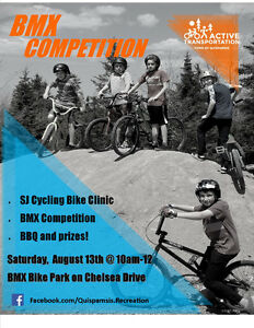 BMX Competition in Quispamsis!