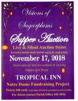 Visions of Sugarplum Supper Auction - North Battleford