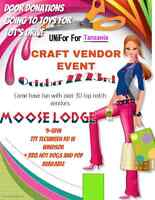 UNIFOR For Tanzania- Craft & Gift Show Moose Lodge SAT-SUN