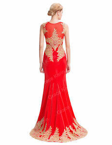 Beautiful Red Mermaid Dress