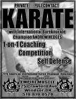 Private Full-Contact Karate Coaching