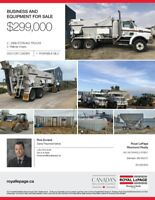 CONCRETE BUSINESS AND EQUIPMENT FOR SALE