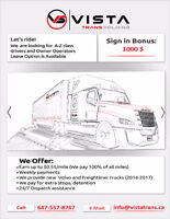 A-Z class drivers / Owner Operators