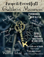Escape the Room Night! Galileo's Museum