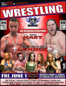 Live PRO WRESTLING WWE Style at Hugo's Bar & Grill!