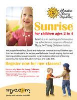 Sunrise - Toddler's Music Classes