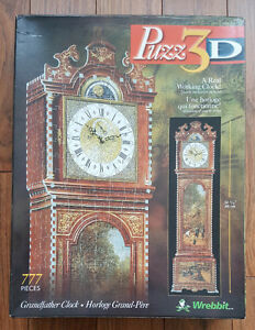 Grandfather Clock - Puzz-3D - 100% COMPLETE