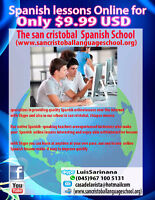 Online-Spanish-Lessons: Spanish With Skype  is the quickest way