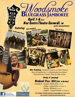 Cornwall - 6th Annual Woodsmoke Bluegrass Jamboree - Nav Centre