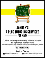 A Plus Tutoring Services for MATH