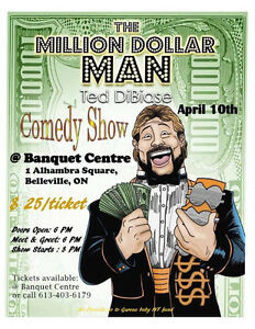 Milion Dollar Man Comedy Show Tickets