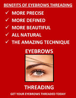 Eyebrow Threading and Waxing at Affordable rates