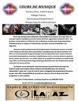 Cours de Musique / Production Audiovisuelle / Conception Sonore