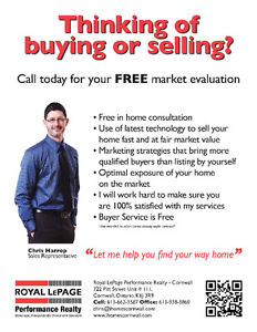 Thinking of buying or selling real estate in Cornwall and Area? Cornwall Ontario image 2