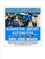 Wanted,Mechanic for Busy Repair Shop