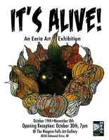 IT'S ALIVE! An Eerie Art Exhibition: Call for Submissions