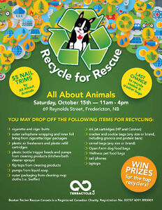 2nd Annual Recycle for Rescue Day